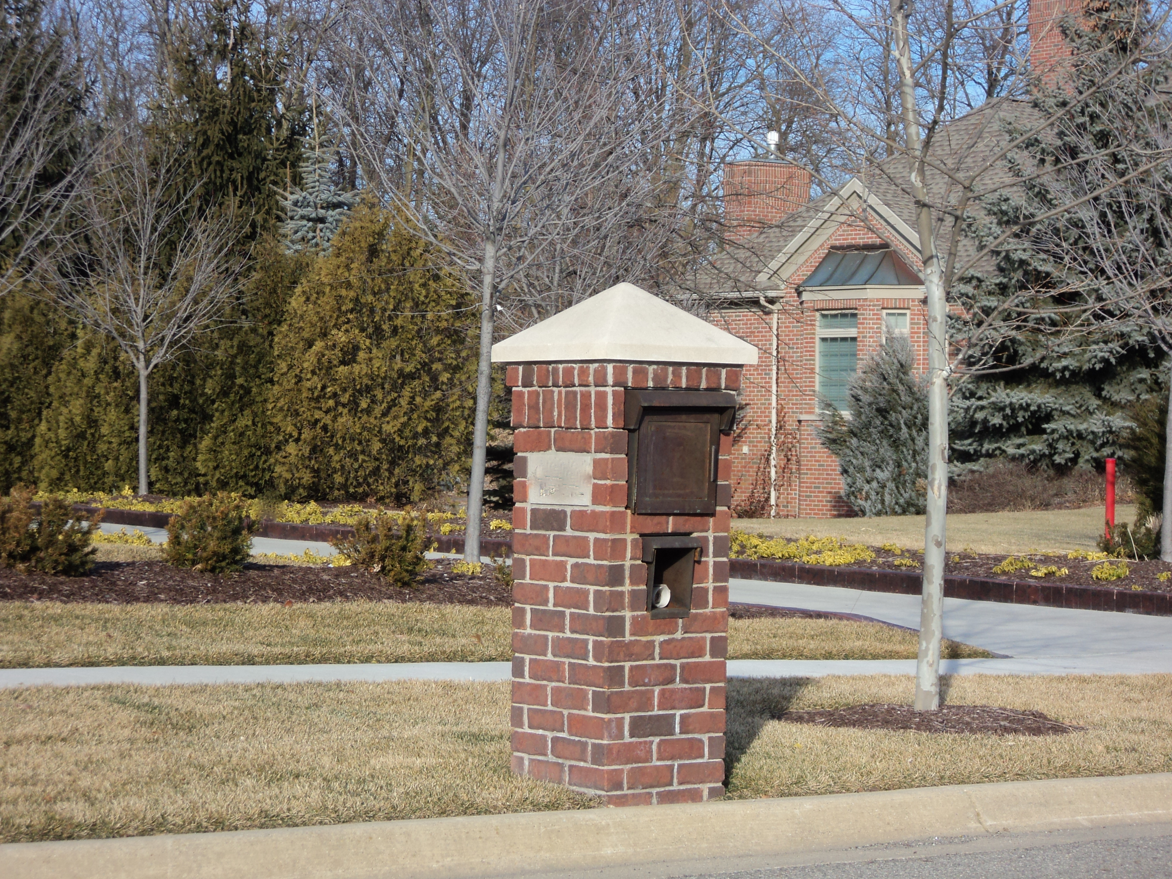 PDF Brick Mailbox Plans Plans Free