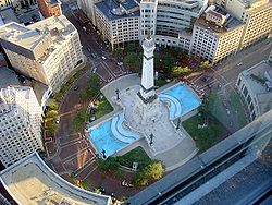 Monument Circle - Source:  en.wikipedia.org
