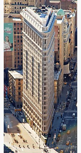 Flatiron Building - Source: en.wikipedia.org