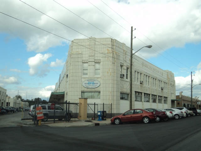 Former Coca-Cola Building along Indy's Massachusetts AVenue