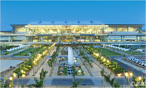 Hyderabad's Rajiv Gandhi International - Source: hyderabad.aero/photo-gallery.aspx