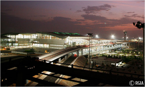 Another view of Rajiv Gandhi International Airport - Source: hyderabad.aero/photo-gallery.aspx