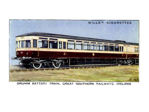 Drumm Battery Train -  Source: allposters.com