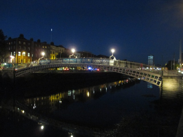 Dublin's Ha Penny Bridge