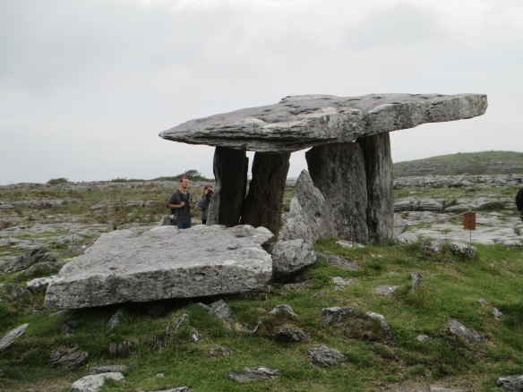 Poulnabrone portal tomb in Burrens National Park