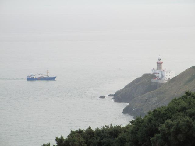 Bailey Lighthouse in Howth (Dublin)