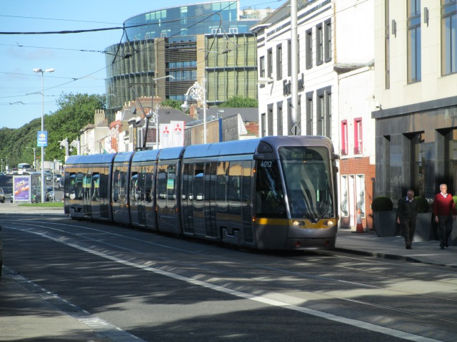 Dublin's LUAS light rail/tram system