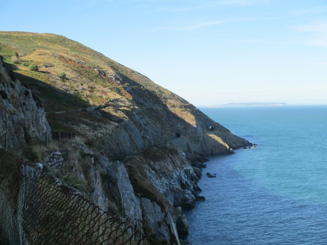 Bray Head cliffs