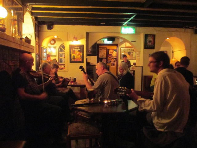 Traditional music at Brogran's in Ennis