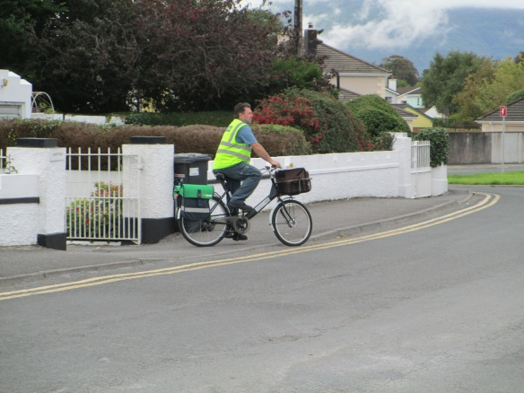 Even the postman delivers using smart commute principles.