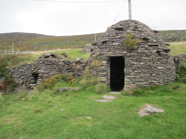 Ancient stone Beehive huts