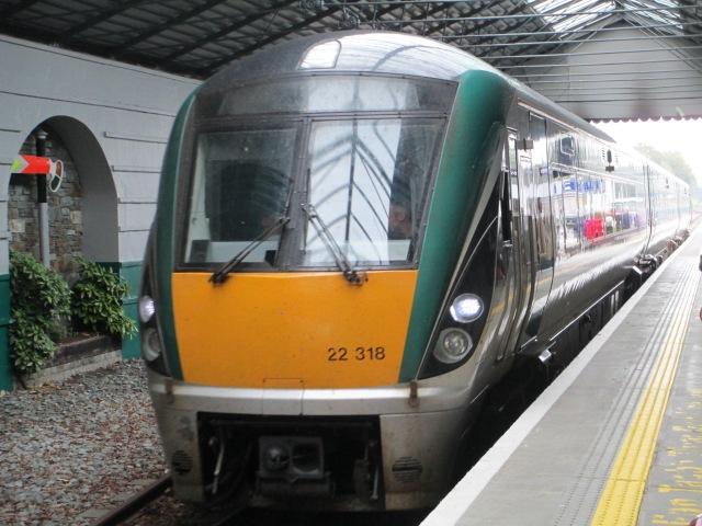 Iarnrod Eirann train
