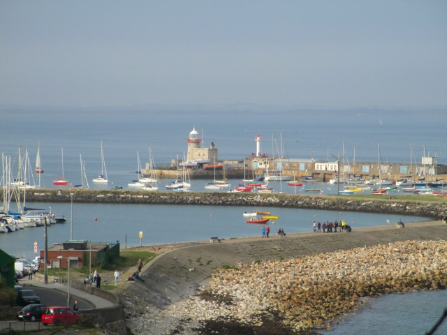 Overlooking Howth Harbour