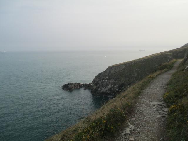 Howth cliff walk trail