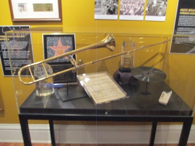 Alum Glenn Miller's trombone