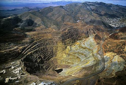 Bisbee, Arizona (copper) - Source: AirPhotoNA.com