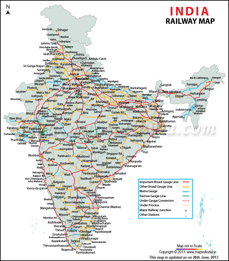 India railway mapNations with most railway miles Panethos