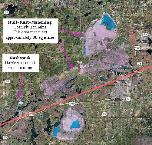 Hibbing, Minnesota - Hull Rust Mahoning Mine (iron ore) - Source: epicroadtraips.us