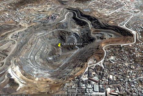 Cerro de Pasco, Peru (zinc and lead) - Source: treehugger.com