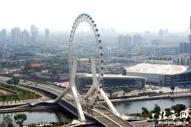 Another view of the Tianjin Eye - Source: amazingnotes.com