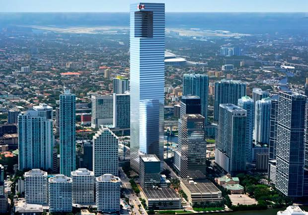 Miami To Join The Super Skyscraper Club X 2 Panethos