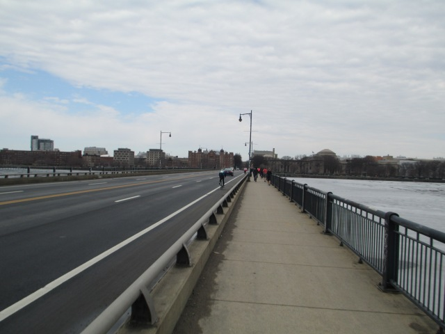CRossing the Harvard Bridge