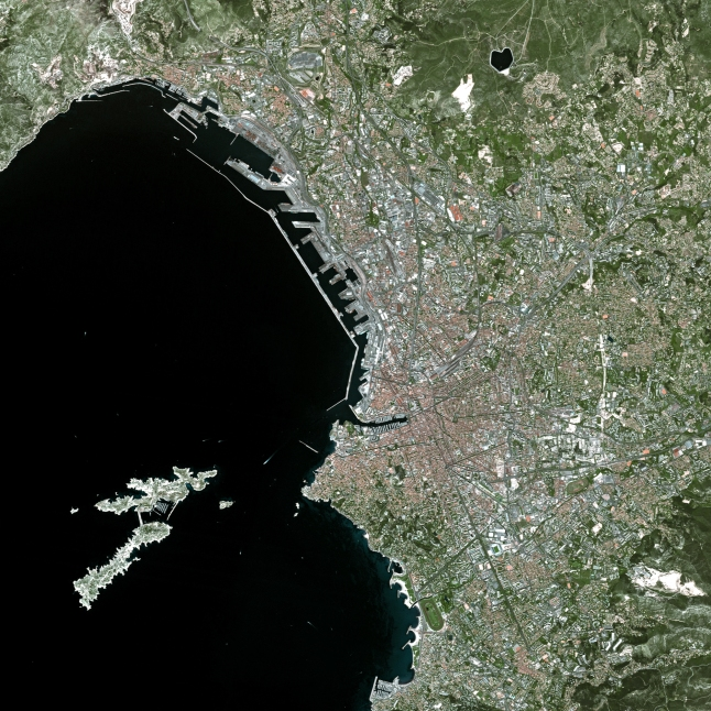 Marseilles, France - Source: astrium-geo.com