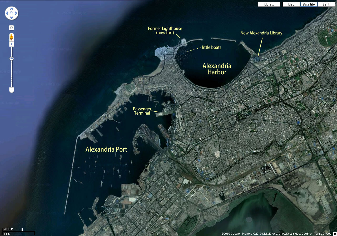Great seaports from space – Africa | Panethos