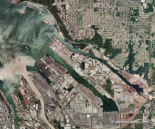 Tacoma, WA - Source: aeerialarchives.com