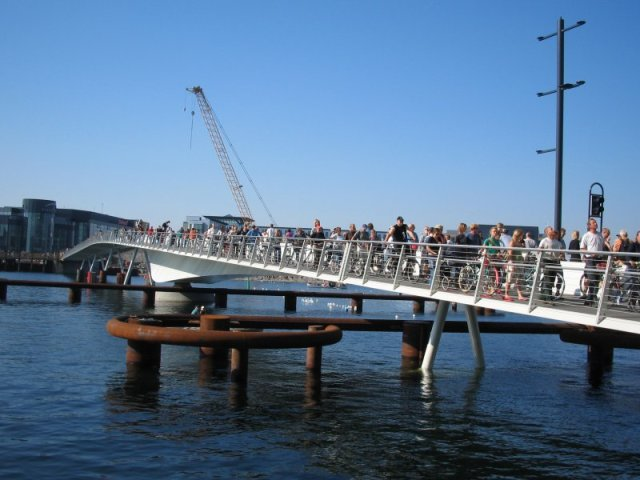 Brygge Bridge in Copenhagen - Source: kimbach.org