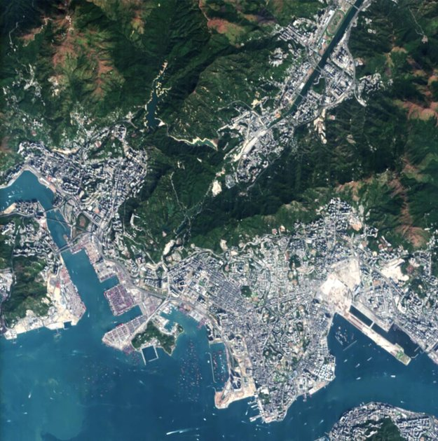 Victoria Harbour, Hong Kong, China - Source: