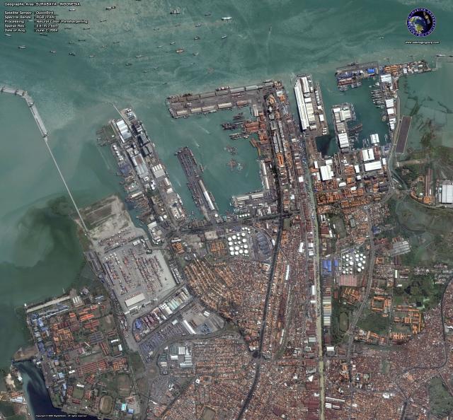 Surabaya, Indonesia - Source: satimagingcorp.com