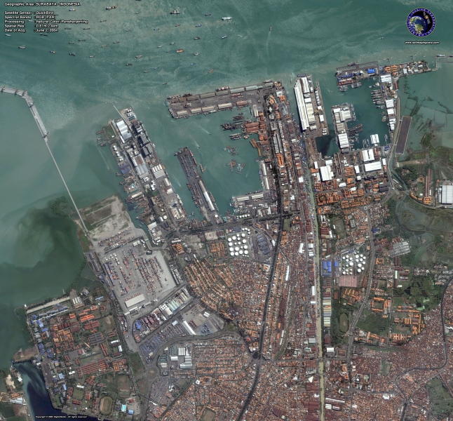 Surabaya, Indonesia - Source: satimagingcorp.com