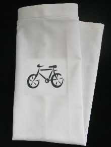 BIKE CYCLE BICYCLE SKATE WHITE SUN SLEEVEZ