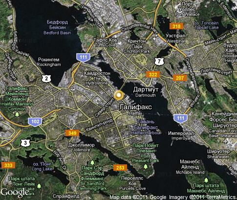 Halifax, Nova Scotia, Canada - Source: