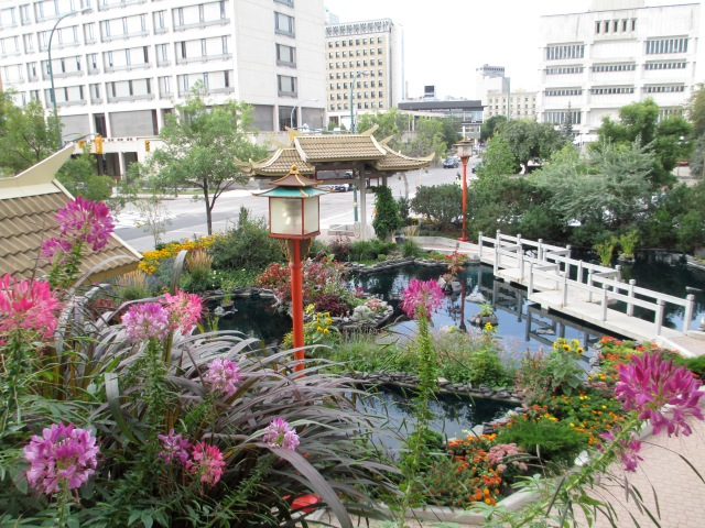 Chinese Garden in Winnipeg