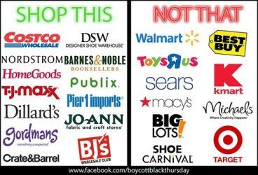 Source: boycottblackthursday
