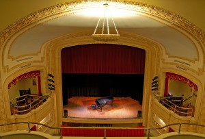 Restored interior of the Mineral Point Opera House - Source: mineralpoint.com