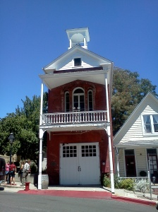 Historic Fire Station in Nevada City, CA