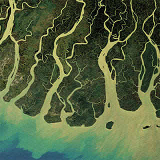 Irrawaddy River delta, Myanmar - Source: eosnap.com