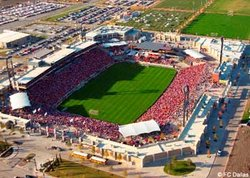 Toyota Stadium in Frisco, TX - Source: go.dallasnews.com