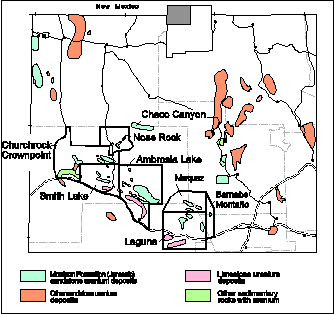 Grants Uranium District - Source: geoinfo.nmt.edu
