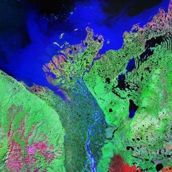 Mackenzie River delta - Source: tank-labblog.yorku.ca