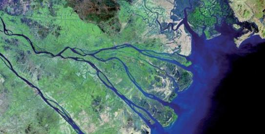Mekong River, Vietnam - Source: mekong.mw.nl