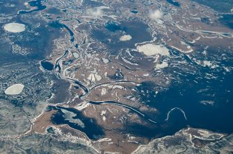 Ob River delta - Source: sergeev.org
