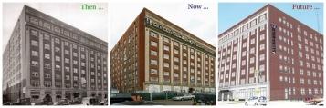 Strathmore Hotel - Source: crainsdetroit.com