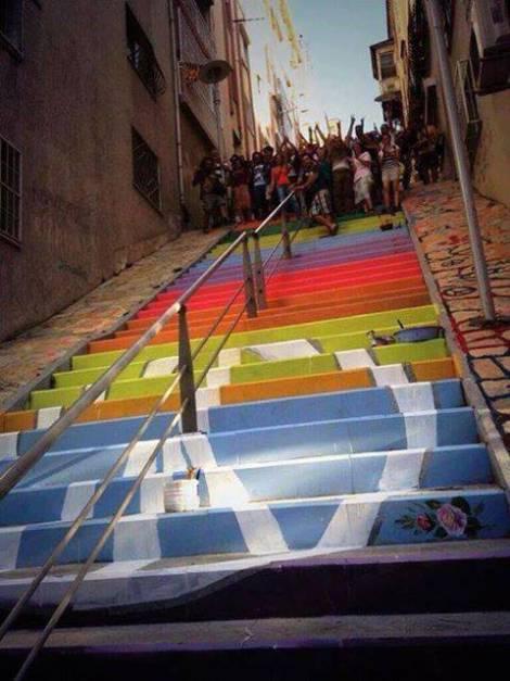 Peace Steps of Izmir, Turkey - Source: todayistblogger.wordpress.com