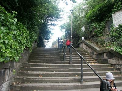 Calton Hill Steps of Edinburgh, Scotland - Source: filmedinburgh.org