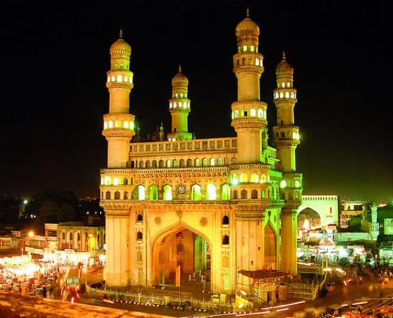 Impressive Charminar in Hyderabad, India - Source: indiamarks,.com