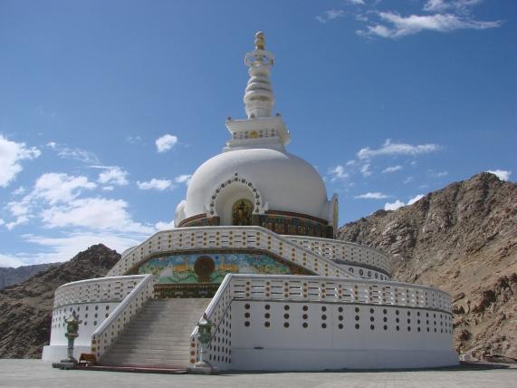 Ladkah, India Peace Pagoda - Source: en.academic.ru